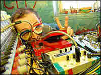 Dan Deacon's do-it-yourself approach brings to mind a mad scientist playing with his toys.