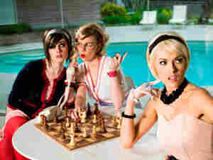 The Pipettes' members play a genuine pastiche of girl-group pop.