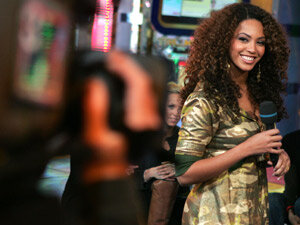 Beyonce Knowles on TRL 300