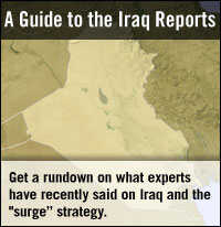 Analysis: Comparing the Iraq Assessments