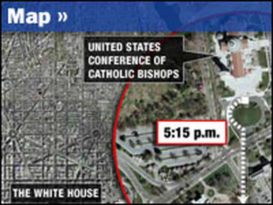 The Pope's Route in D.C.