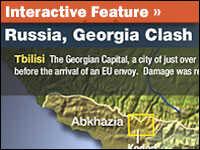 Interactive Feature: Russia, Georgia Clash