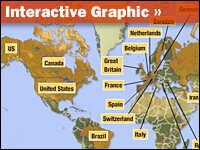 Nuclear Proliferation Map