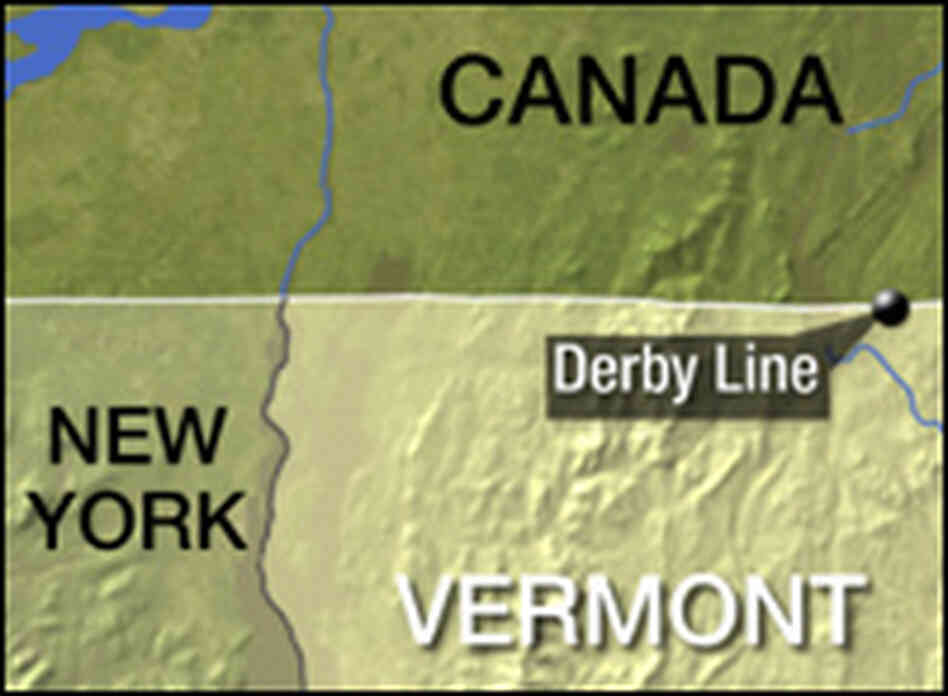 Vermont location on the U.S. Map