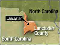 Lancaster, S.C., map