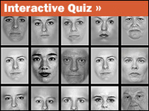 Click on the interactive to take this memory test from the Gazzaley lab that uses distractions to see how well brains of different ages maintain focus.