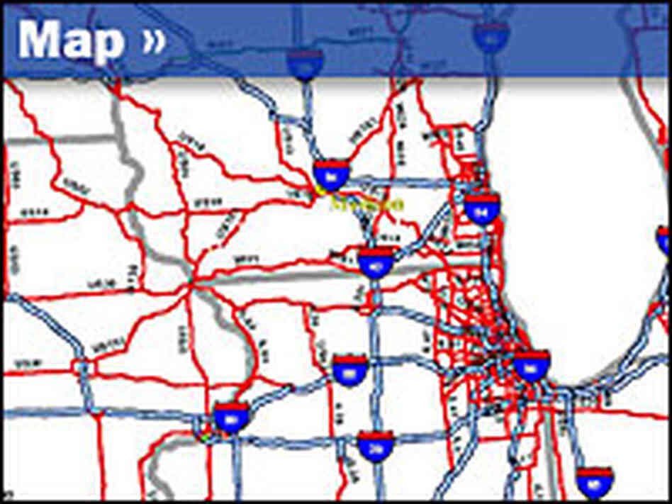 U.S. Highways Map
