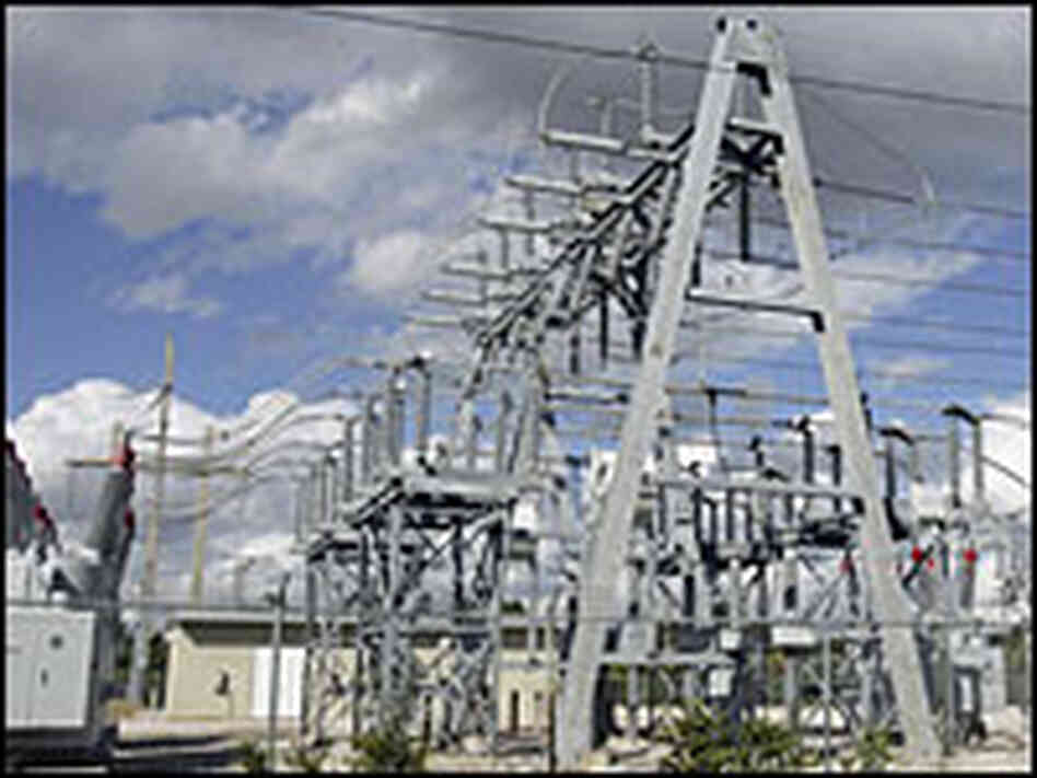 Lines at Florida Power and Light