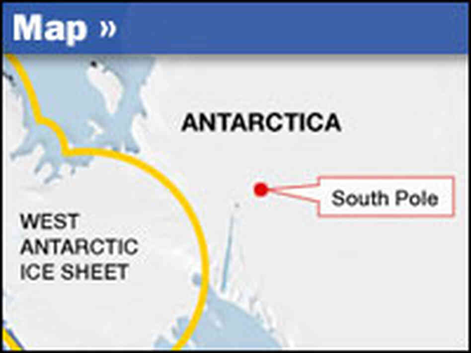 Map: West Antarctic Ice Sheet