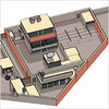 Diagram of Bin Laden's compound