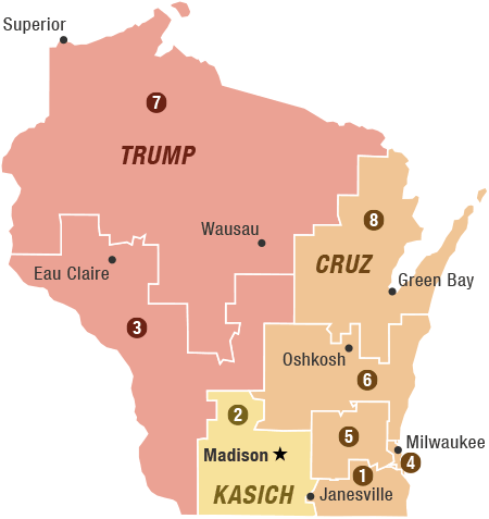 Wisconsin Primary Preview: Cruz, Sanders Hope For Wins To ...