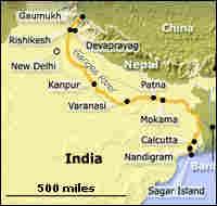 Ganges Map