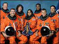 The crew of the Space Shuttle Columbia.