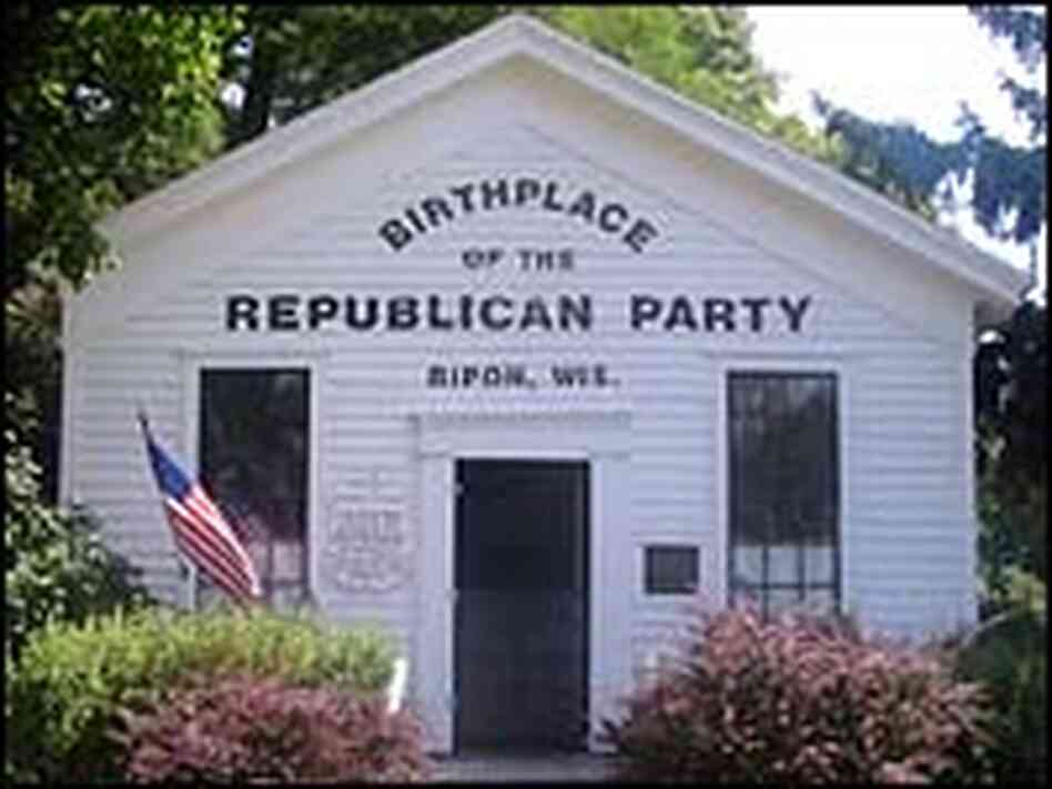 an introduction to the history of the formation of the republican party in the united states Where us politics came from: debate about the nature of the united states changed their name to the democratic-republican party.