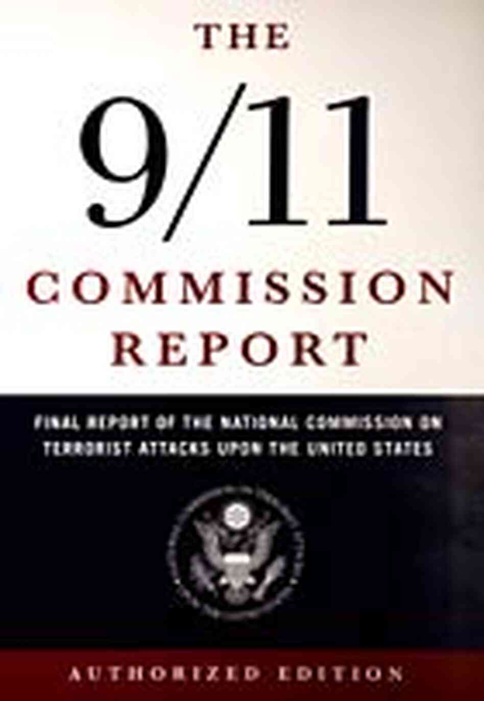 The cover of the commission's report.