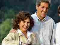 Teresa Heinz Kerry with her husband Sen. John Kerry.