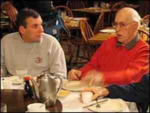 John Feinstein and Red Auerbach