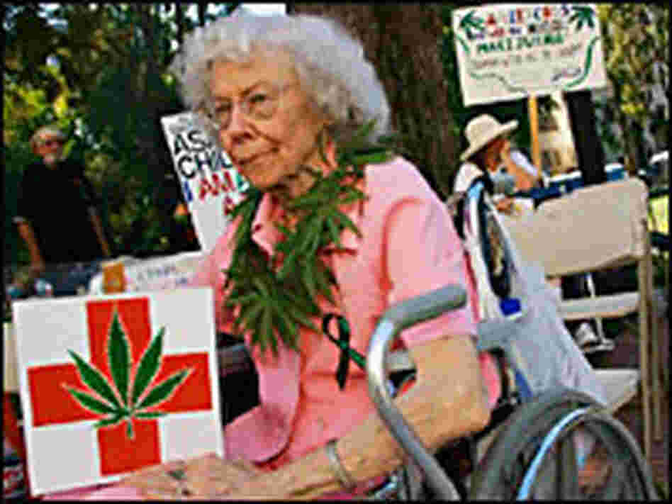 A medical marijuana patient