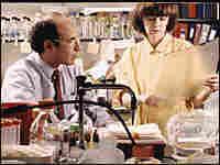 Richard Axel (left) and Linda Buck