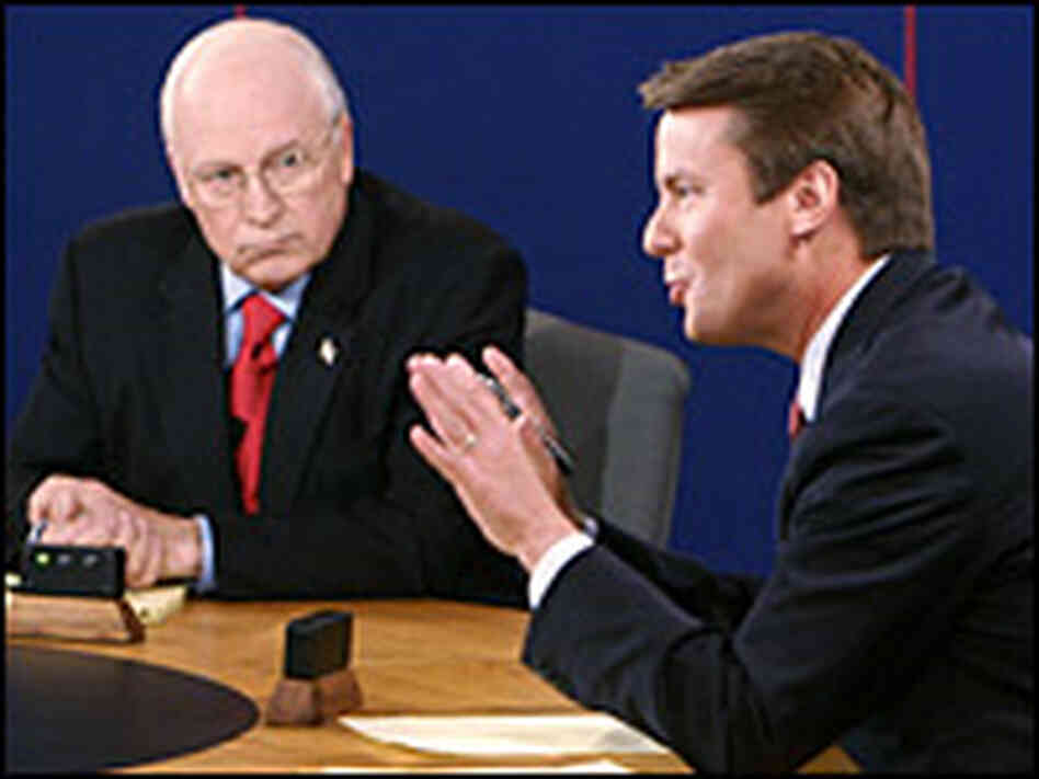 Cheney, Edwards Trade Barbs at VP Debate Fox