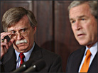 President Bush announces the appointment of John Bolton as U.S. ambassador to the United Nations.