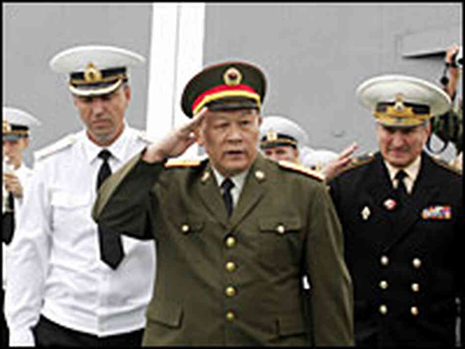 China's Gen. Liang Guanglie