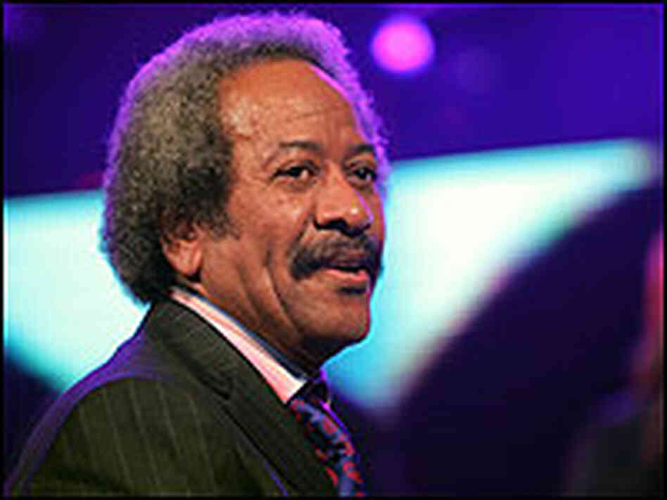Musician Allen Toussaint performs at Madison Square Garden in September at a Katrina benefit.