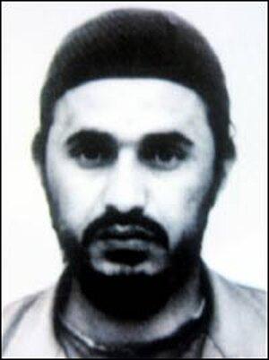Fugitive al Qaeda leader Abu Musab al-Zarqawi, in an undated file photo.