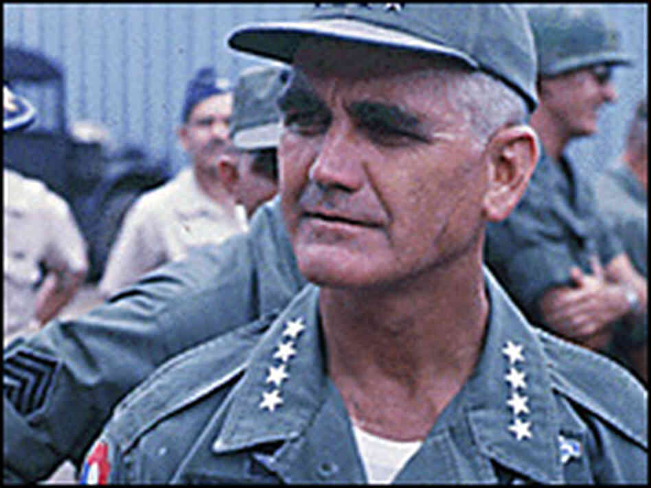 Gen. William Westmoreland in Vietnam, 1967