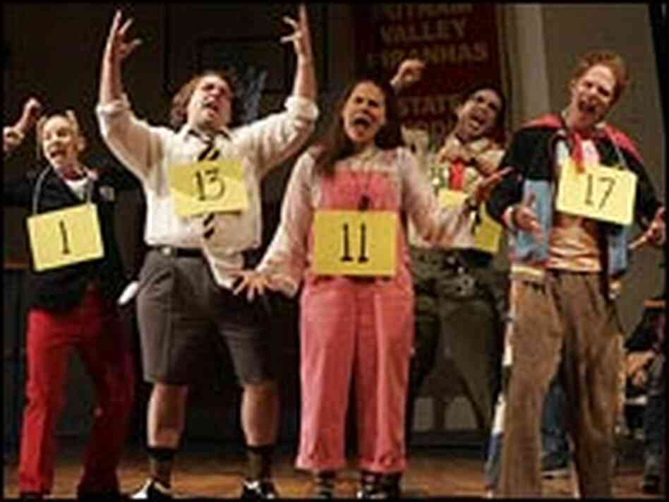 A scene from 'The 25th Annual Putnam County Spelling Bee.'