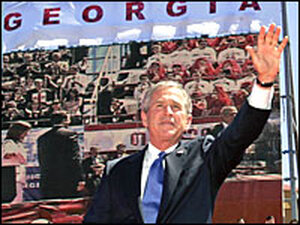 President George W. Bush in Tbilisi