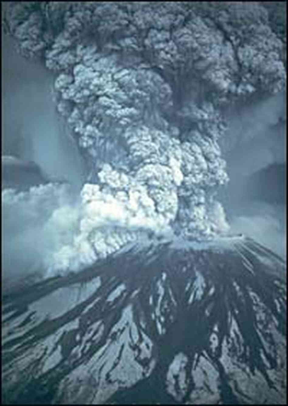 Mt. St. Helens eruption on May 18,1980