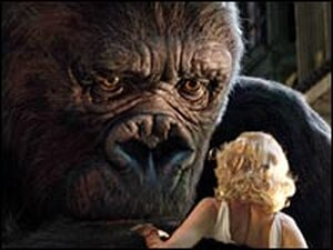 Scene from 'King Kong'