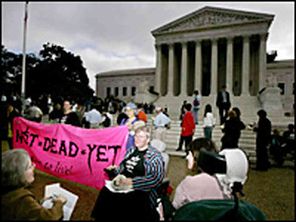 gonzales v oregon In 1994 oregon enacted the death with dignity act, the first state law authorizing physicians to prescribe lethal doses of controlled substances to.
