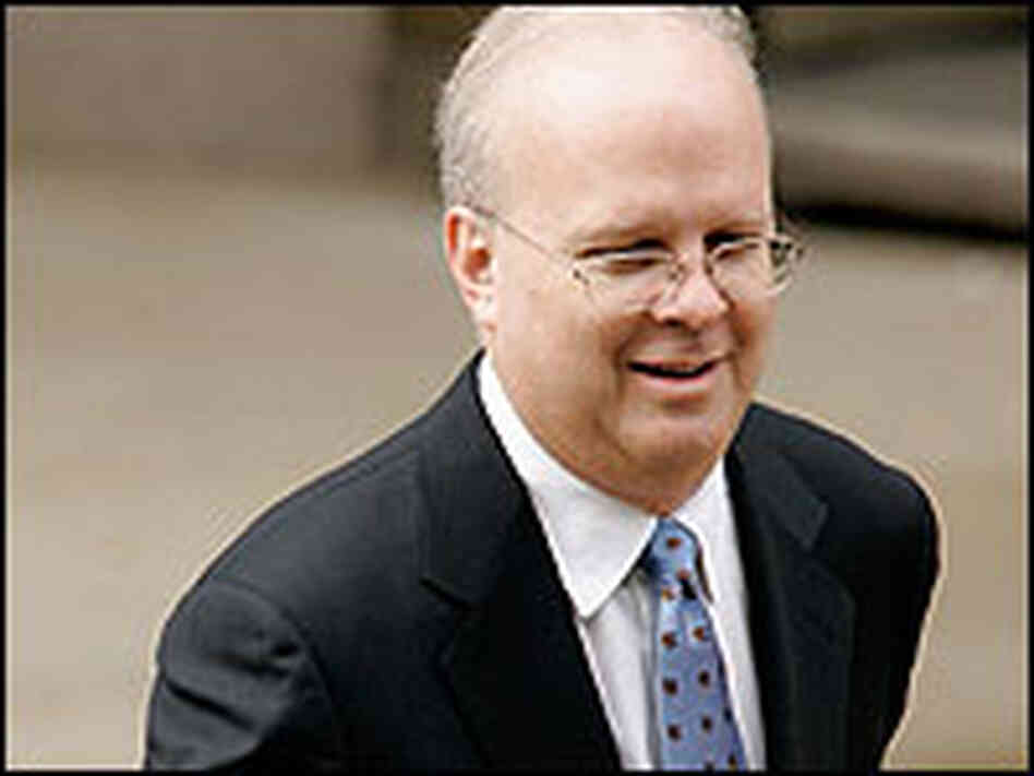 White House political adviser Karl Rove