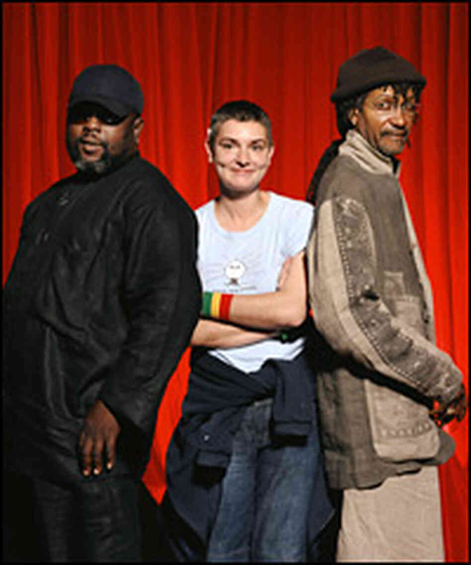 Backing up Sinead O'Connor on her new album are musician-producers Sly and Robbie.