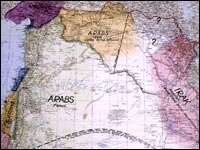 Te Lawrence Map T.E. Lawrence's Middle East Vision : NPR