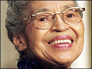 Rosa Parks, 92, died at her home in Detroit, Oct. 24, 2005.