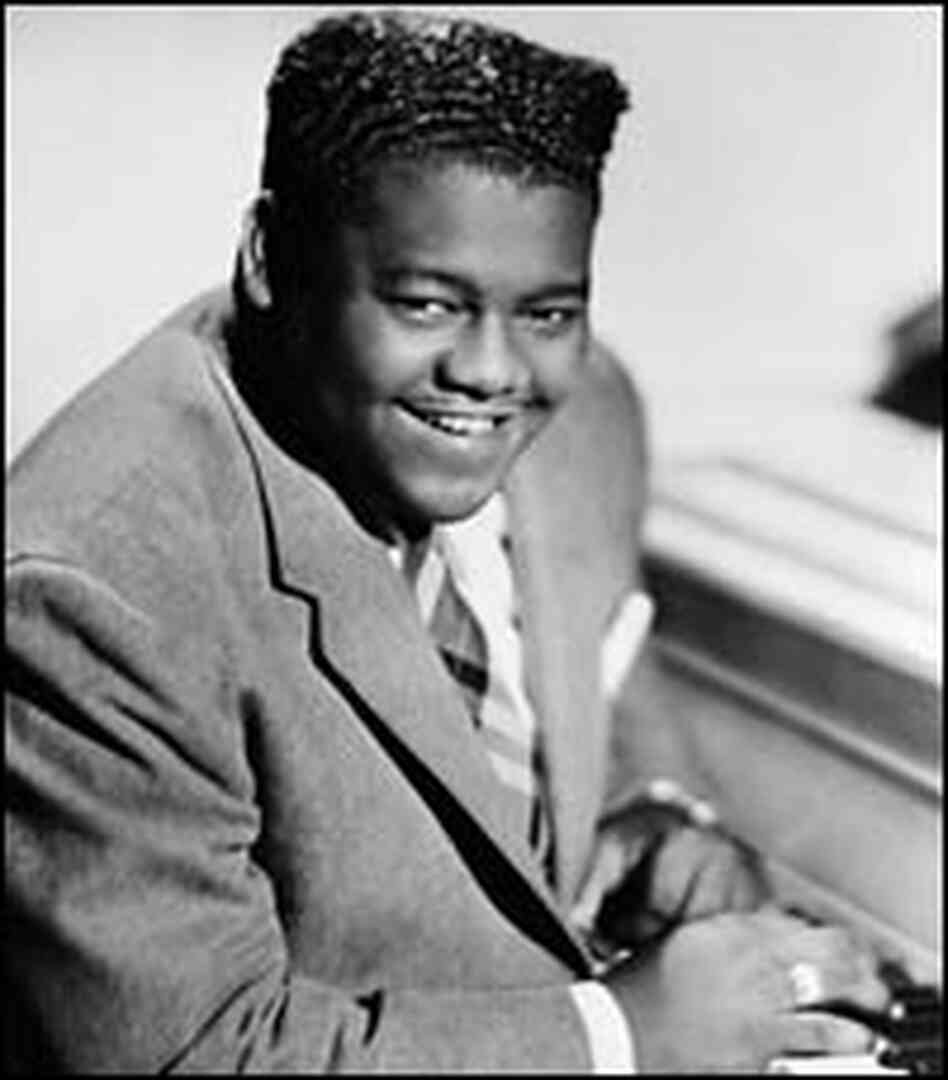 Fats Domino, in a 1956 photo.