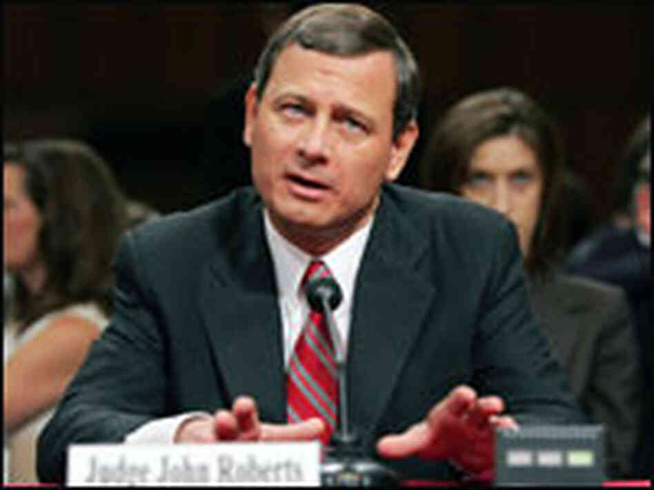 Judge John Roberts answers questions