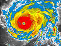A Satellite Image of Hurricane Rita