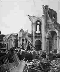 A destroyed building in Galveston. Credit: Corbis.