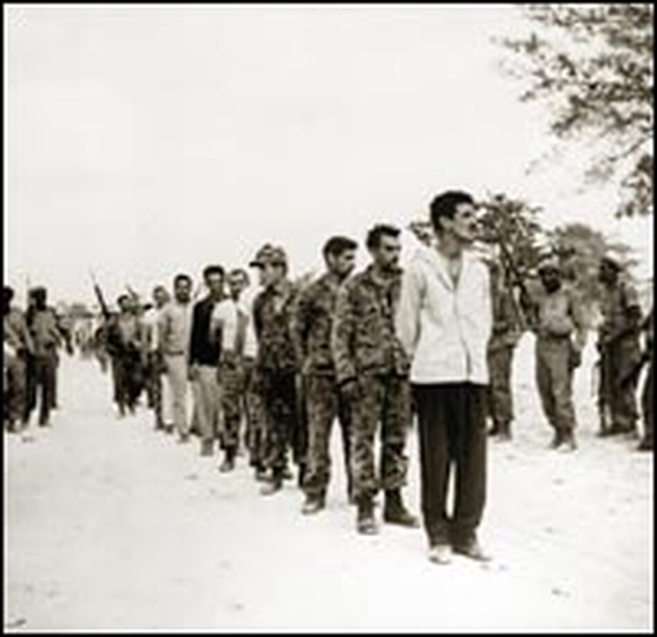 fidel castro from rebel to el presidente news a group of captured ns part of a u s backed force of n exiles who attempted an invasion of at the bay of pigs are lined up by castro s