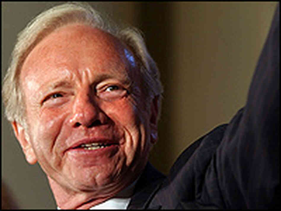 Sen. Joe Lieberman concedes defeat in the Connecticut Democratic primary.