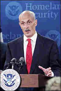 U.S. Homeland Security Secretary Michael Chertoff
