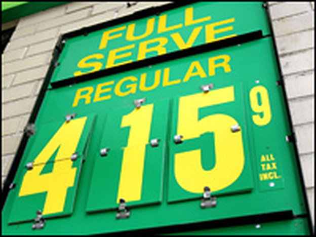 Sign of the Futures? Last week, a study determined that Chicago had the highest gas prices in the nation.