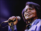 James Brown performs in London on July 4, 2006.