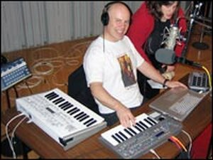 Thomas Dolby in NPR's Studio 4A