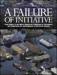 The cover of the House committee's report on Hurricane Katrina.