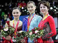 Gold medallist Shizuka Arakawa of Japan. Credit: Reuters.